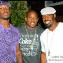 Washington Redskins Fred Davis and Donovan McNabb attend Willis McGahee's Birthday party