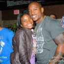 DC Radio Personality Angie Ange and Willis McGahee at his Birthday party in Wash DC