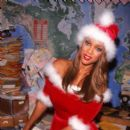 Tyra Banks in Sexy Santa Outfit