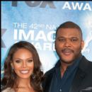 Tyler Perry and Crystal Stewart
