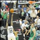 Wizards Jordan Crawford shoots over a Boston defender