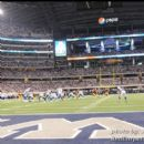 A sold out Cowboys Stadium for Monday Night Football - Cowboys vs Redskins - 9/26/11