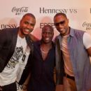 Trey Songz, Kevin Hart and Tank at Kevin Hart's 'Hennessy V.S. and Essence Birthday Celebration'