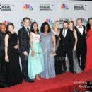 The Cast of Scandal with Writer/Director/Producer Shonda Rhimes