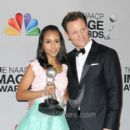 ABC's Scandal Co-Stars Kerry Washington and Tony Goldwyn