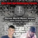 Mono Bagends performing at Club Shrine April 17th
