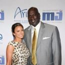 Michael Jordan and his new wife Yvette Prieto