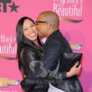 Rapper Ja Rule with Wife Aisha Atkins